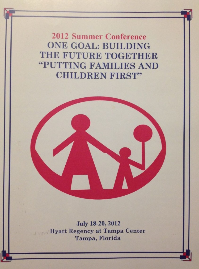 Cover of the One Goal Summer Conference 2012 Program